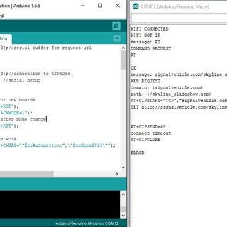 Arduino Esp8266 Post Data to Website