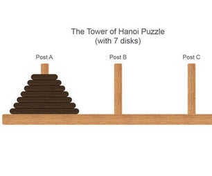 Write Code to Solve the Tower of Hanoi Puzzle