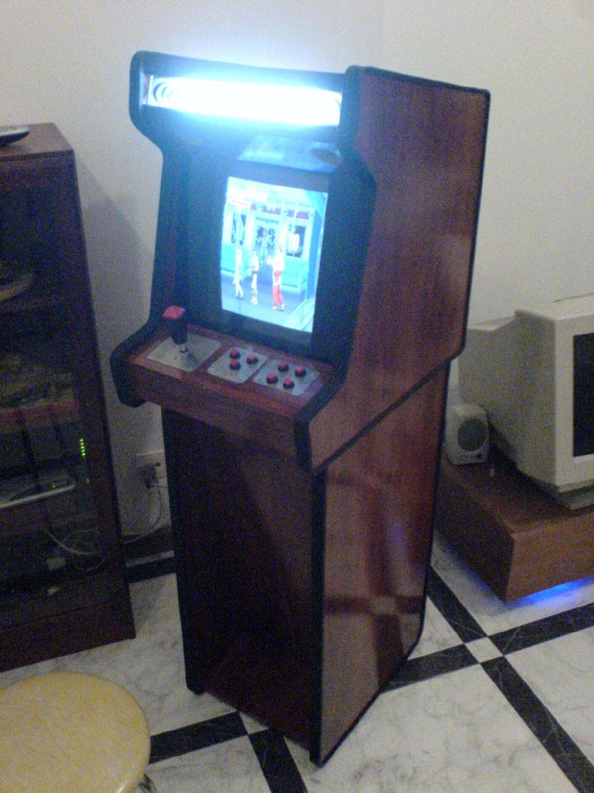 Mini Bartop Arcade Cabinet