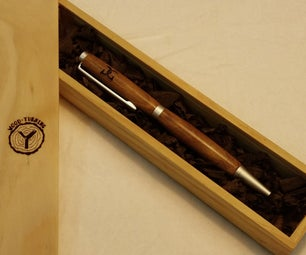 Laser Etched Pen (no Hassle CA Finish!)