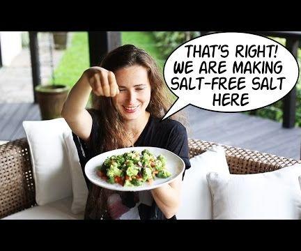 How to substitute salt