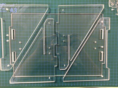 Laser Cut the Acrylic