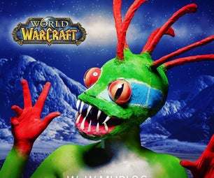 World of Warcraft - Murloc SFX Makeup Tutorial