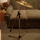 How to Turn a Mic Stand into a Cymbal Stand