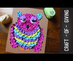 DIY Paper Owl | Craft of Giving