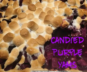 Candied Purple Yams