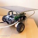 Solar Powered Lego Mindstorms NXT Robot