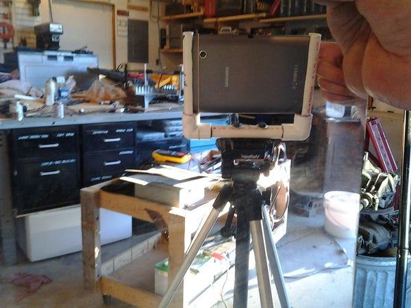 Easy Tripod Mount for a 7 Inch Tablet