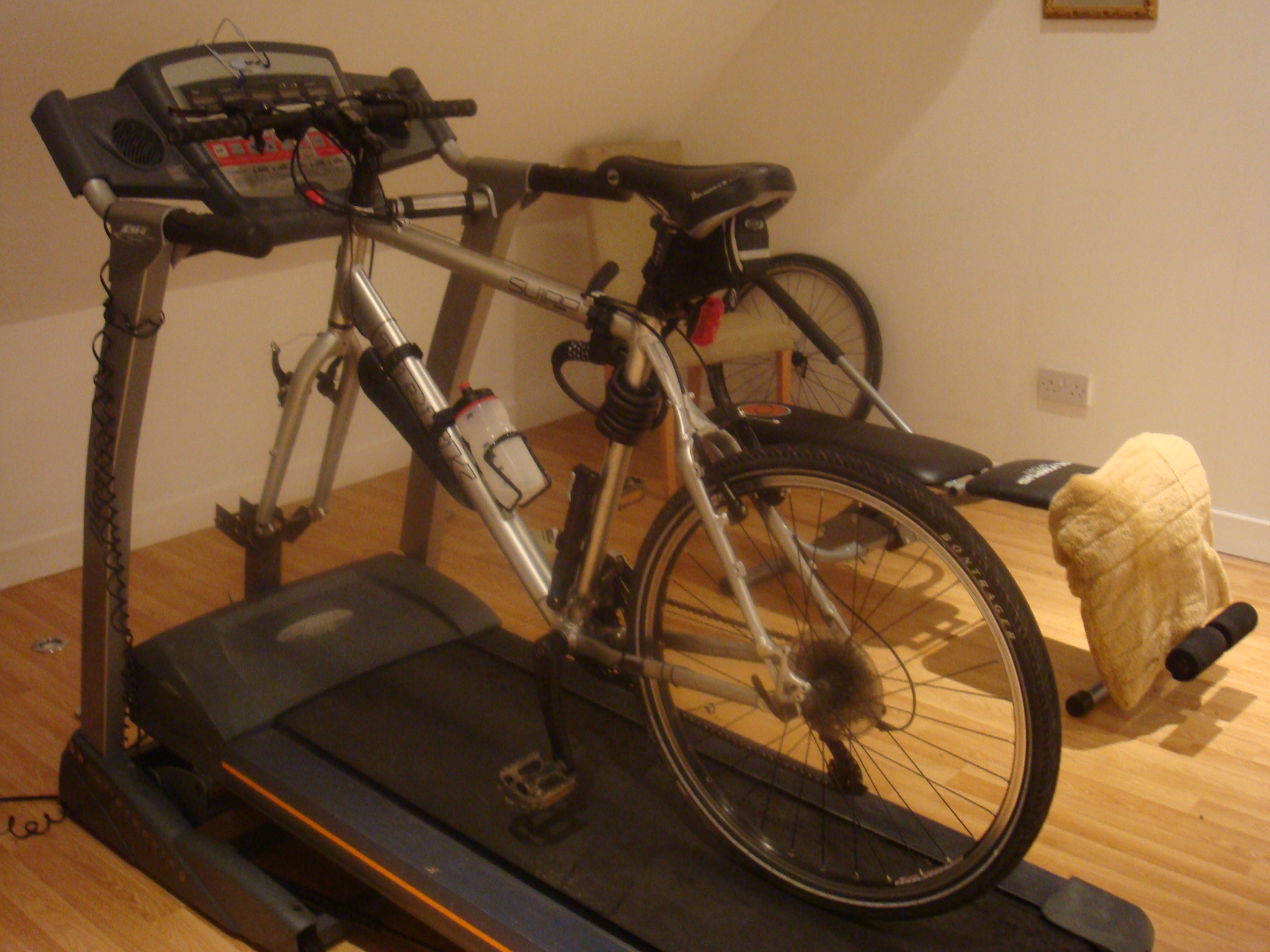 Exercise Bike with Treadmill