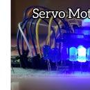 Servo Motor With 10 LED's