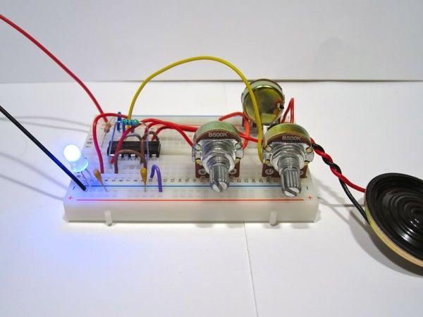 Build an Atari Punk Circuit on a Breadboard