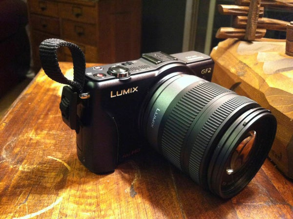 No Cost Finger Strap for Micro Four Thirds or Point and Shoot Cameras