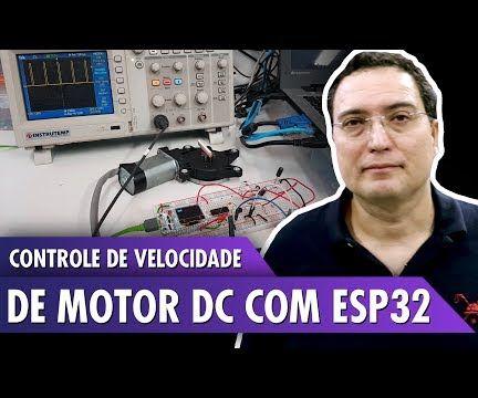 DC Motor Speed Control With ESP32