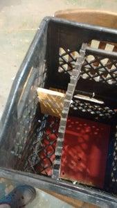 Milk Crate Storage.