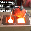 Making Aluminum Bronze: Melting Copper and Aluminum