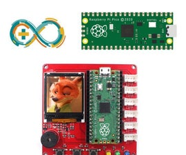 Display Image With Raspberry Pi Pico by Arduino Programming