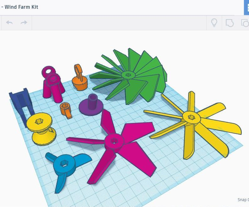 How to Design the Best Wind Farm Blade in Tinkercad - Designing Your Own Blades