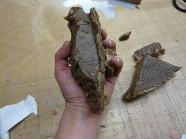 How to Cut Hard Microcrystalline Wax