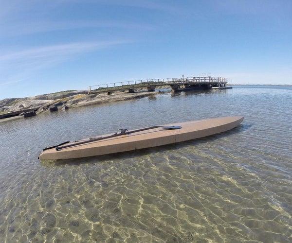 Wooden SUP Board (environmentally Friendly)