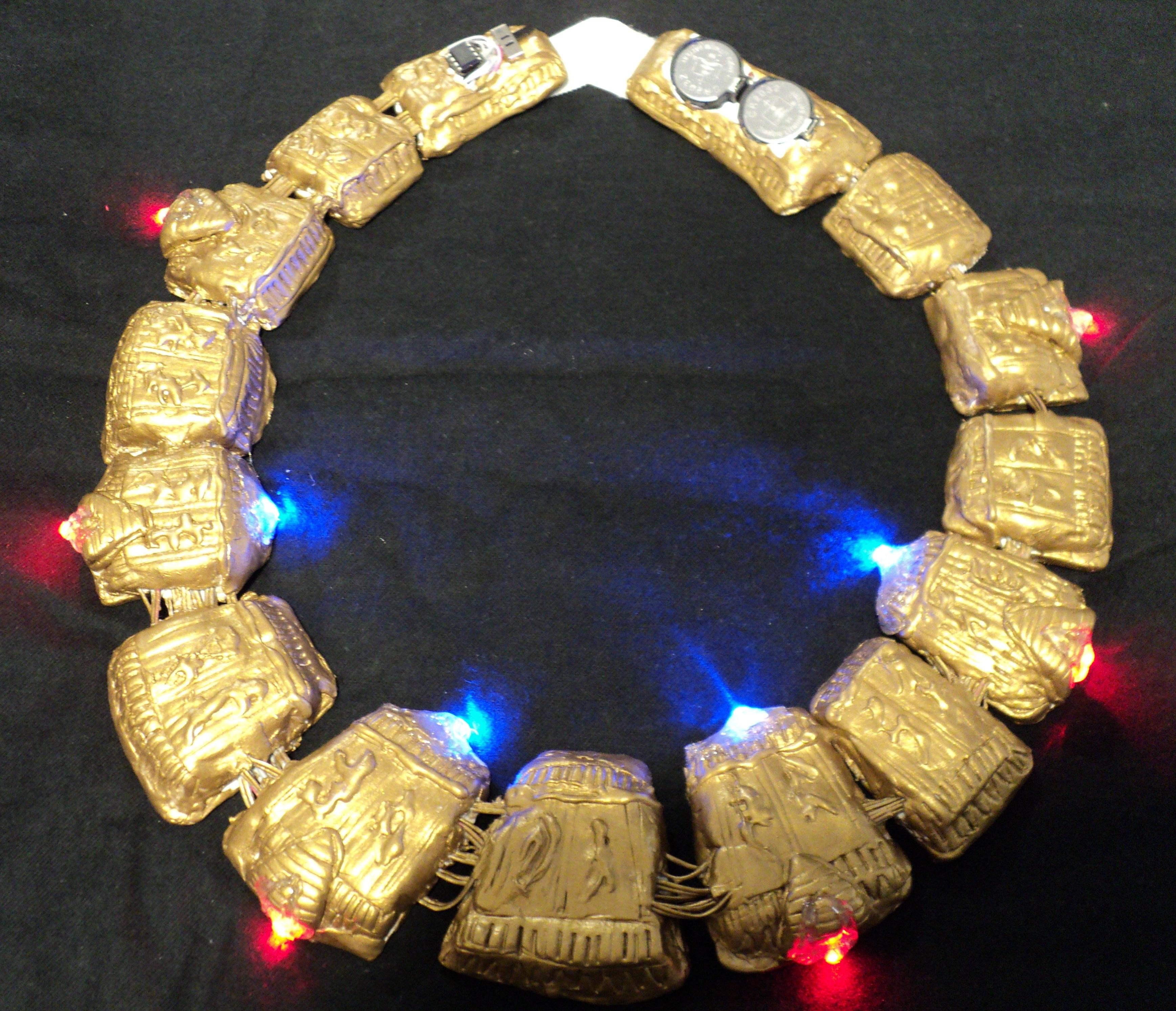Stargate LED Lighted Necklace