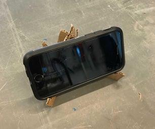 纸板智能手机台立场