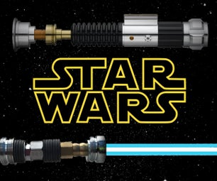 Mini Lightsaber Out of Spare Parts