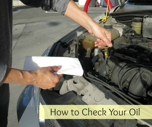 How to Check Oil