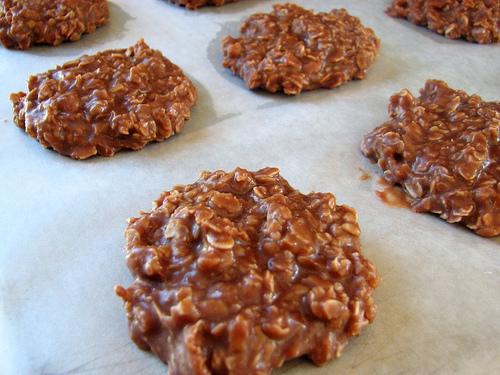 Home made no bake cookies!