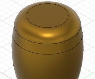 3D Printed Shifter Knob