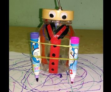 Simple Drawing Robot for Kids
