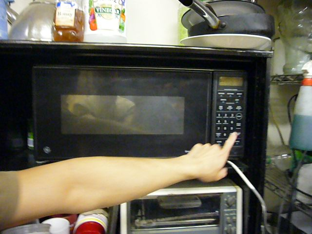 Microwave Science Experiments - Will it blow up?  What can we stick in? Microwave Night at MITERS