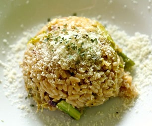 Oven-Baked-Asparagus Risotto