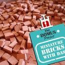 How to Make Miniature Bricks With Das Clay