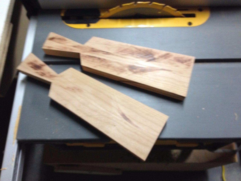 Cut the Wood in Half