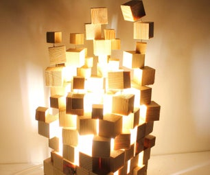 Lamp in Minecraft Style!