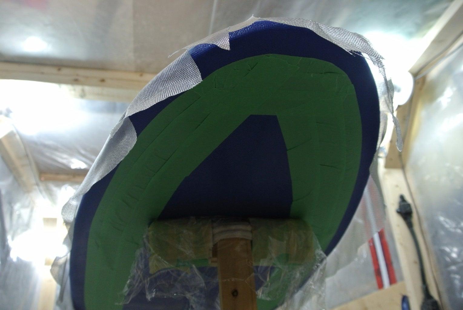 Deck Cut-Lap and Cutting Fiberglass for the Deck