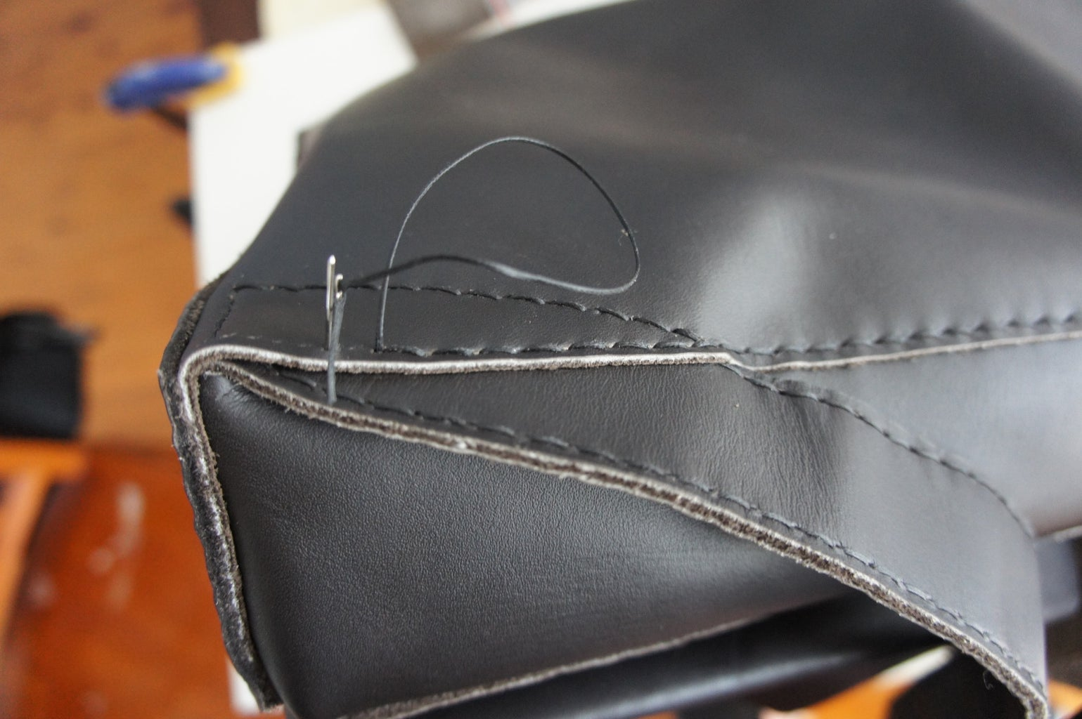 Assembling the Main Compartment: Sides and Bottom