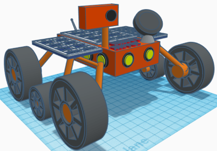 Unique Mars Rover Design (Make It Move)