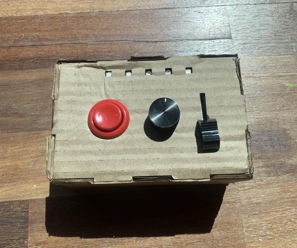 Simple Game Controller Using P5.serial Control