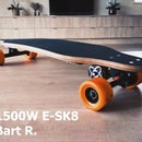 Powerful 1500W Electric Longboard