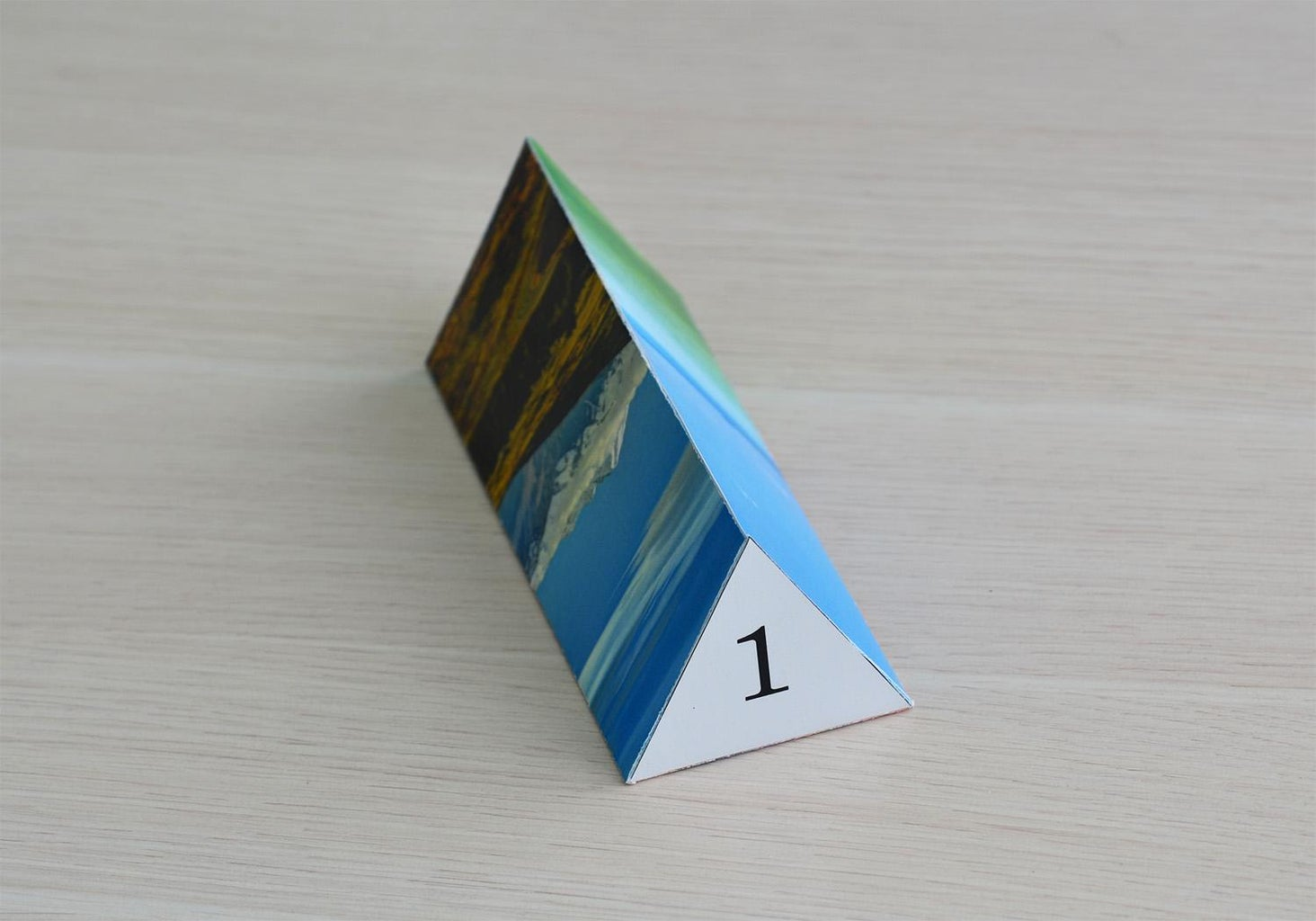 How to Make a Regular Triangular Prism