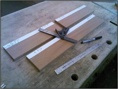 Cutting the Grooves for the Ebony Drawer Inlays