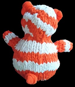 How to Knit a Teddy Bear From Recycled T-shirts