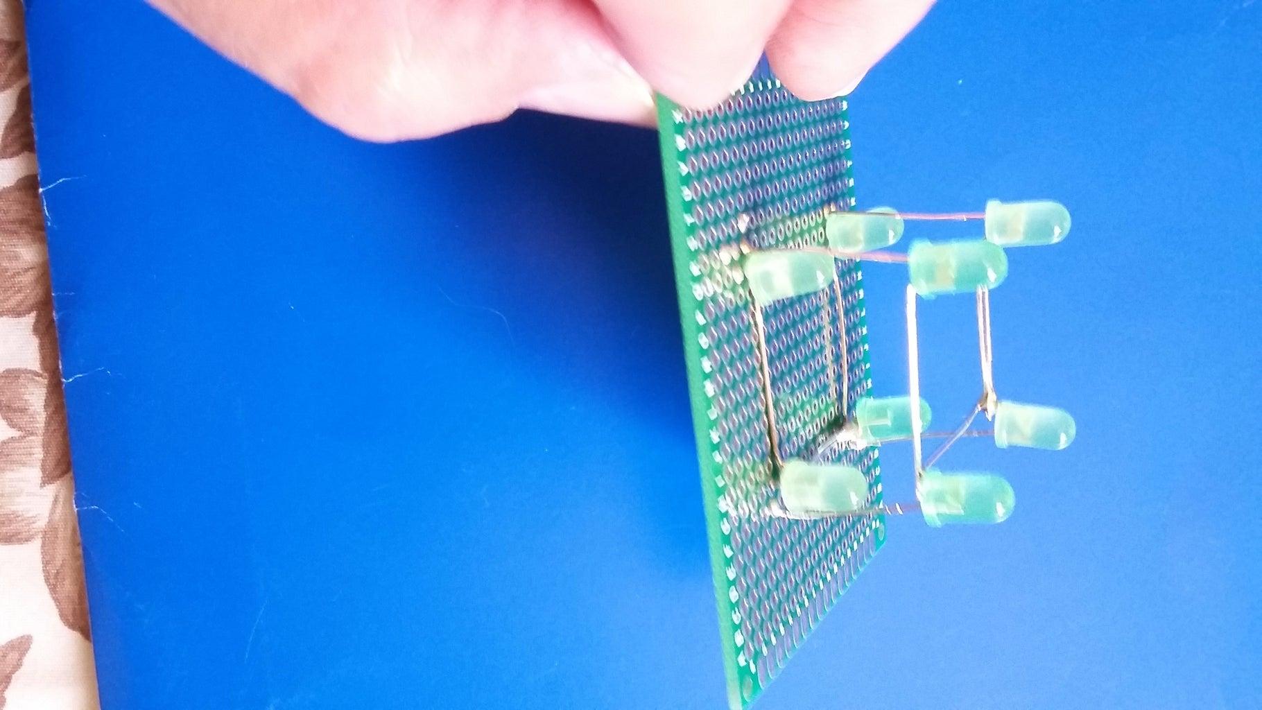 Assembling the LED Cube