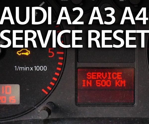 Reset Service Reminder in Audi A2, A3, A4, A6, TT