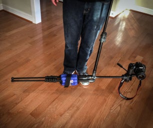 Using a Tripod for Ground Level Filming