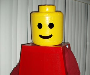 ¡Disfraz De Hombre LEGO!