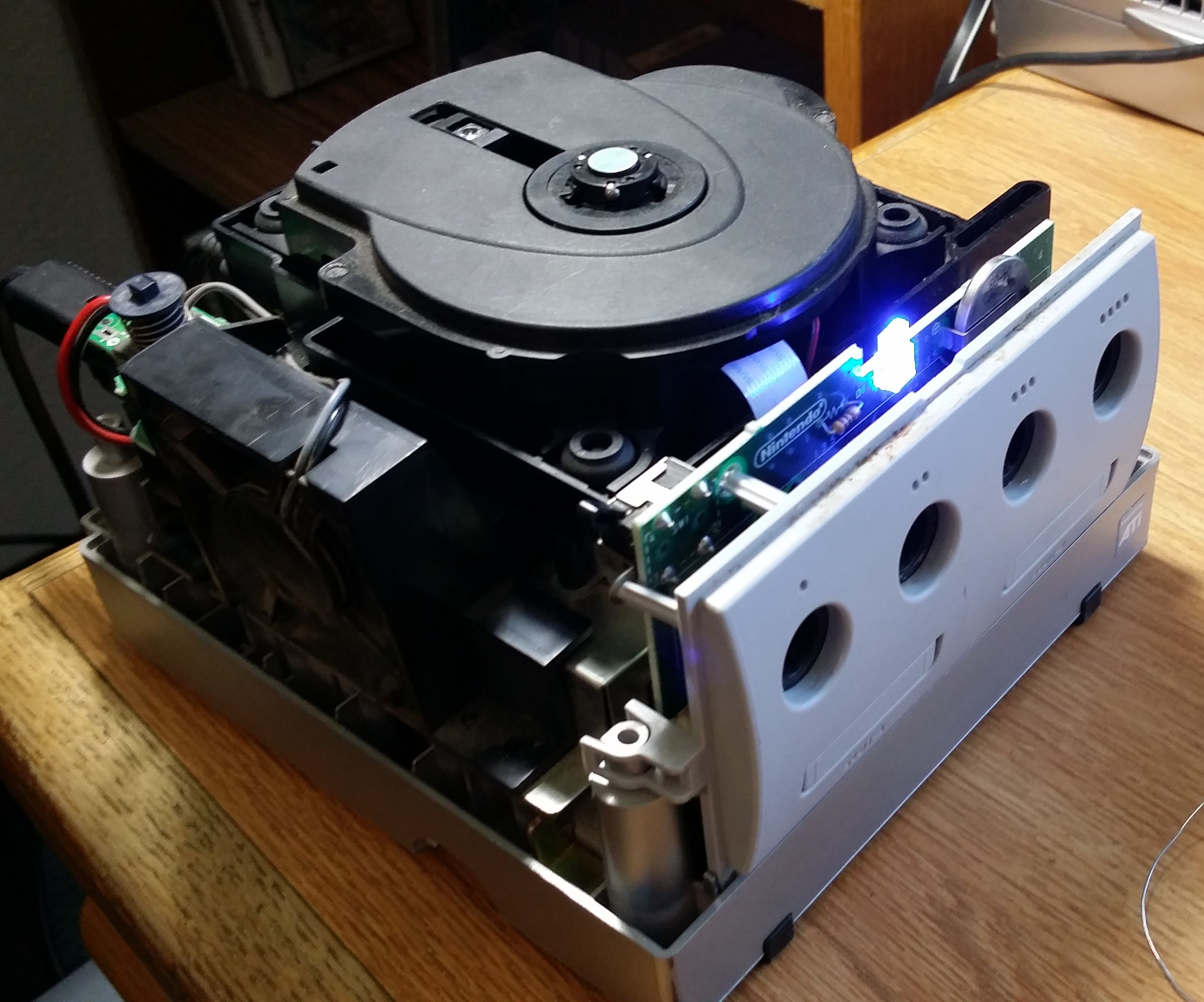 Homemade GameCube Mod-Chip