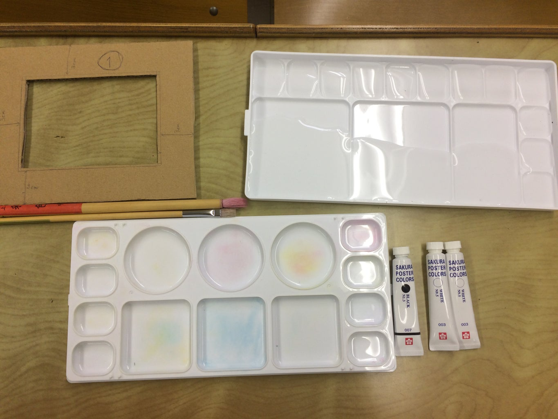 Whitening Cardboard