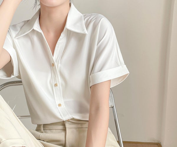 Einfache Damen Bluse Nähen: Kostenloses Schnittmuster